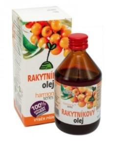 100% Rakytníkový olej na vnútorné i vonkajšie poižitie
