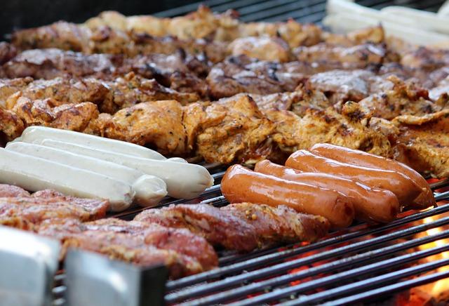 maso bohaté na bielkoviny