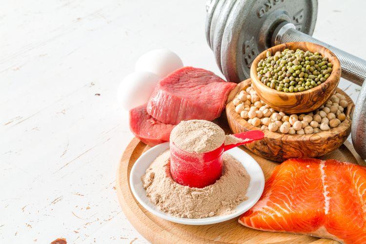 BCAA aminokyseliny v strave a výživovom doplnku