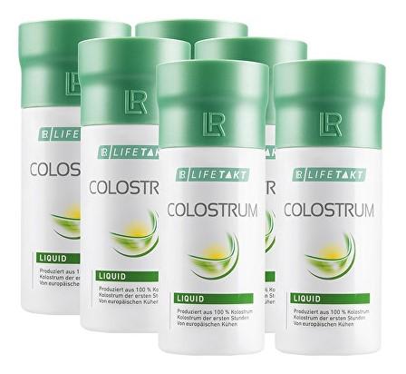 100% čisté tekuté kolostrum LR