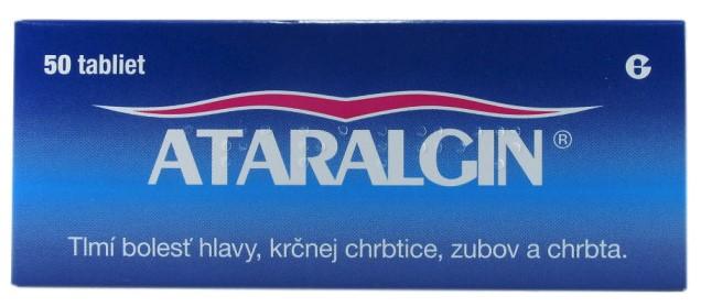 Ataralgin 50 ks proti bolesti