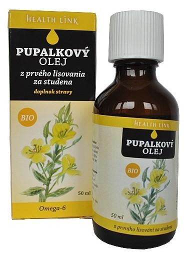 HEALTH LINK BIO Pupalkový olej 50ml