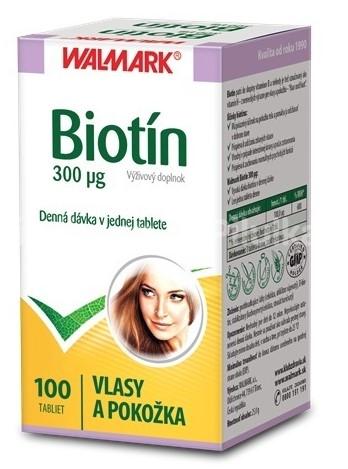 Wallmark Biotín - vitamín B7 na vlasy