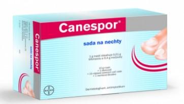 Canespor sada na nechty - liečba mykózy nechtov