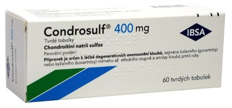 Condrosulf 400 mg tablety