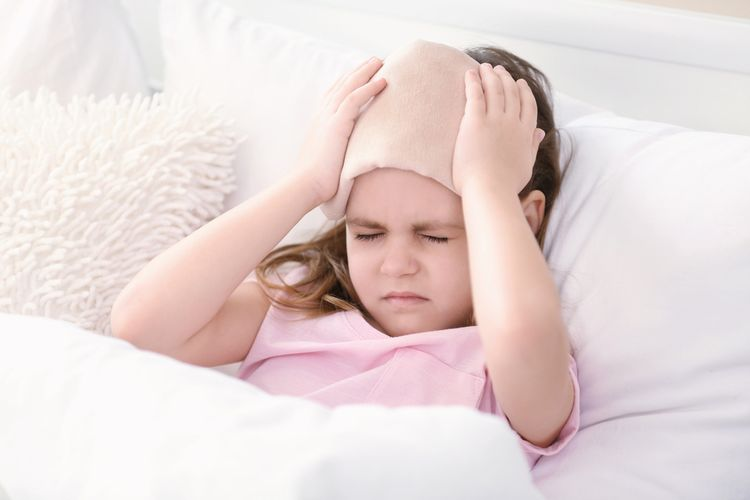 Bolesť hlavy u malého dieťaťa
