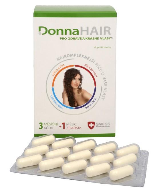 Tablety Donna hair pre zdravé a krásne vlasy