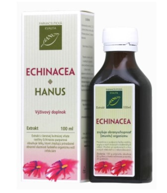 Hanus echinacea liehovy extrakt 100 ml