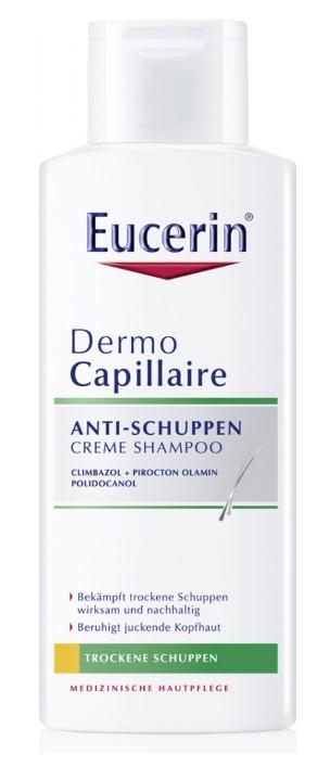 Eucerin DermoCapillaire šampón proti suchým lupinám 200 ml
