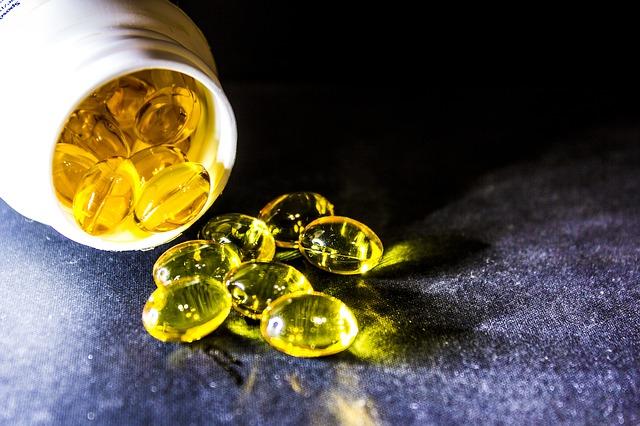 Rybí olej v tabletách