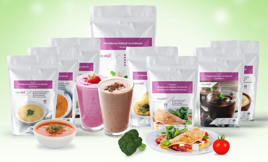 Ketomix - proteínová ketónová diéta