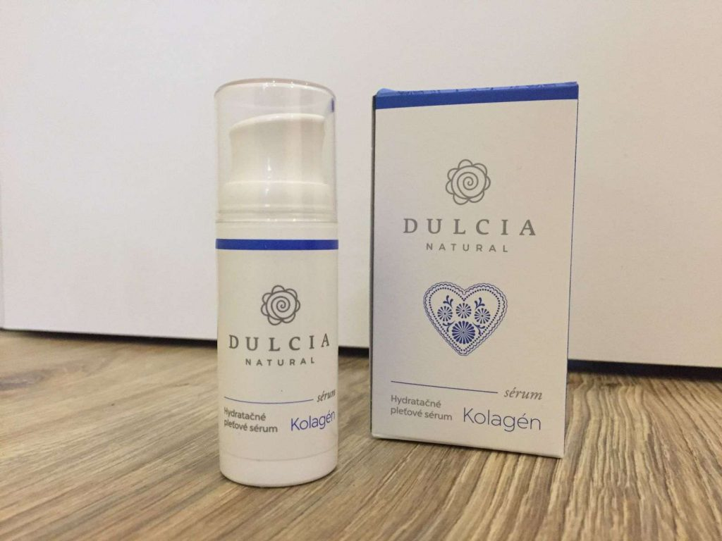 Hydratačné kolagénové sérum Dulcia Naturals