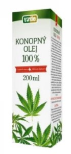Konopný olej Virde 200 ml