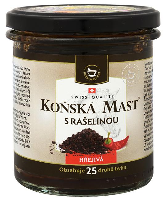 Herbamedicus Konská masť s rašelinou hrejivá 300 ml