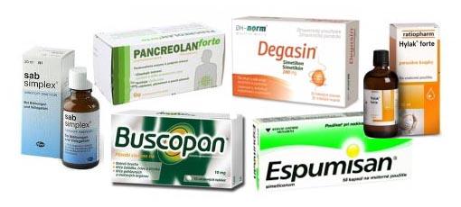 Voľnoredajné lieky na plynatosť