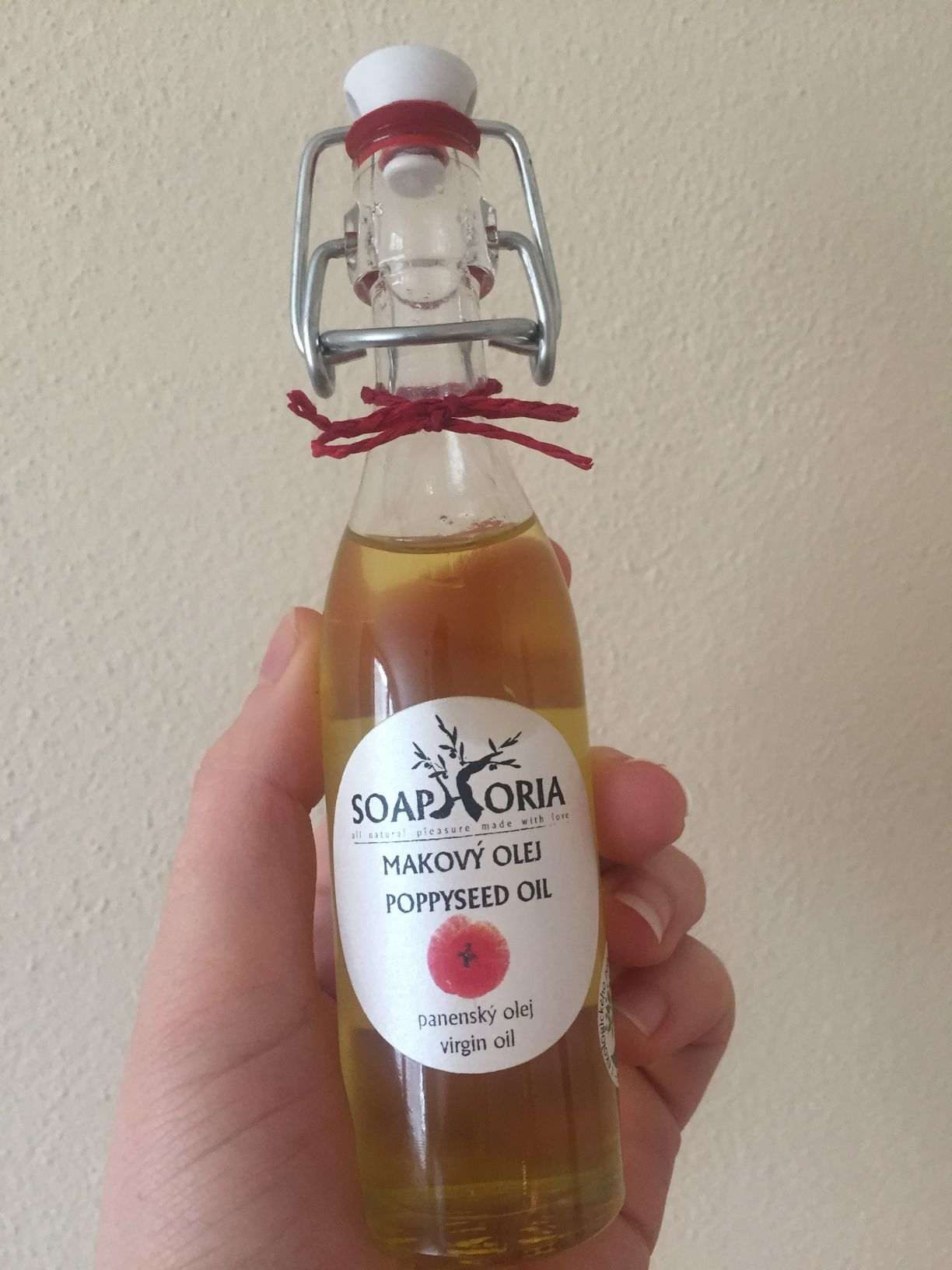 Makový olej Soaphoria Organic