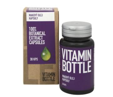 Makový olej v tabletách