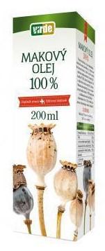 Makový olej Virde, 200 ml