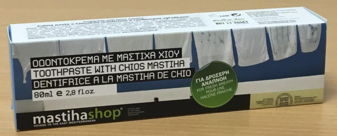 Zubná pasta FRESH S MASTICHOU