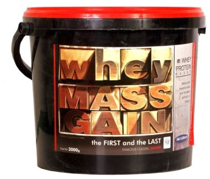 Gainer Whey Mass Gain 3000 g - Megabol