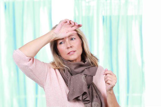 Žena v menopauze