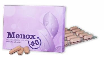 Menox45 tabletky proti príznakom menopauzy