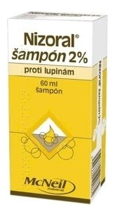 Nizoral šampón 2% shp.1x60ml