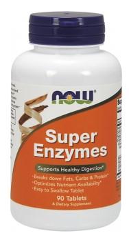 Now Super enzymes na trávenie