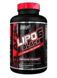 Spaľovač tukov Nutrex Lipo 6 Black