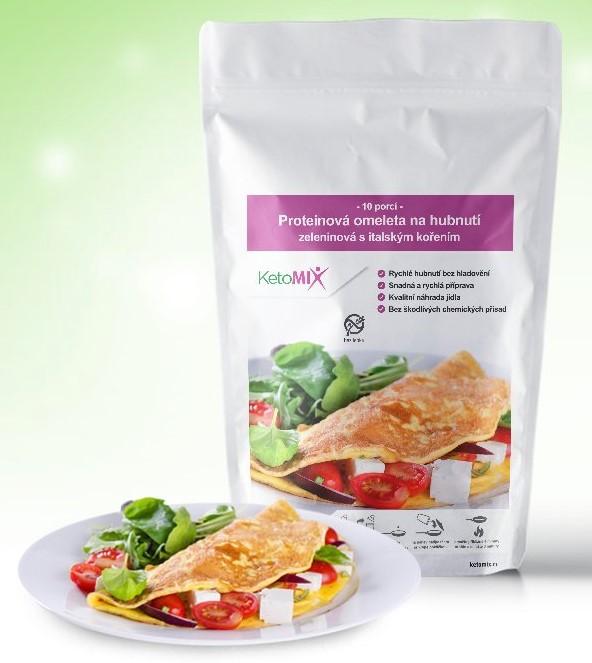 Ketomix omeleta