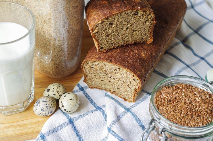 Psyllium v domácom chlebe