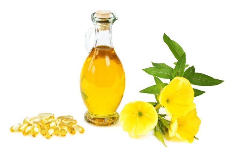 Tekutý pupalkový olej a olej v kapsuliach