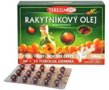 Terezia Company 100% Rakytníkový olej v tobolkách