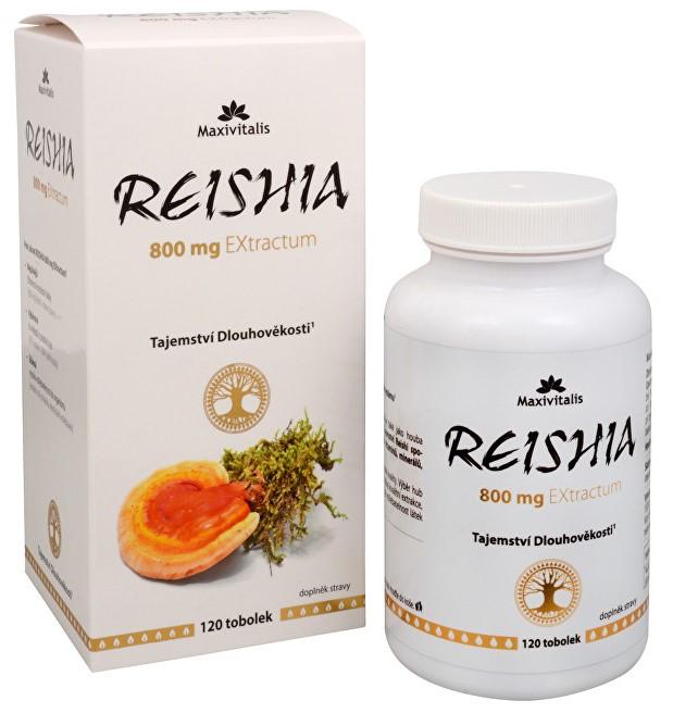 Tabletky Reishi - Reishia 800 mg