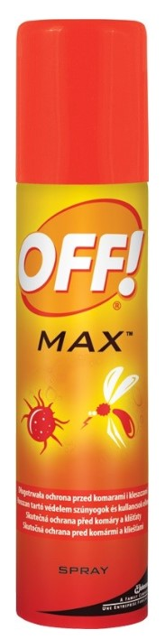 Repelent OFF! MAX spray