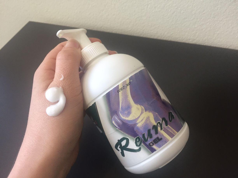 Masážny chladivý reuma gél
