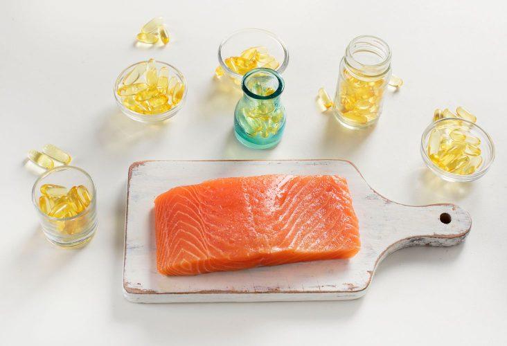 Rybí olej s obsahom omega 3 mastných kyselín