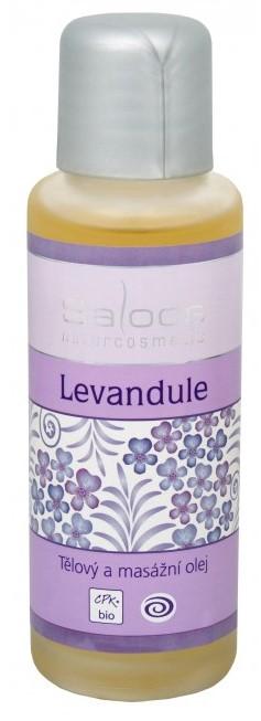 Bio telový a masážny olej - Levanduľa Saloos