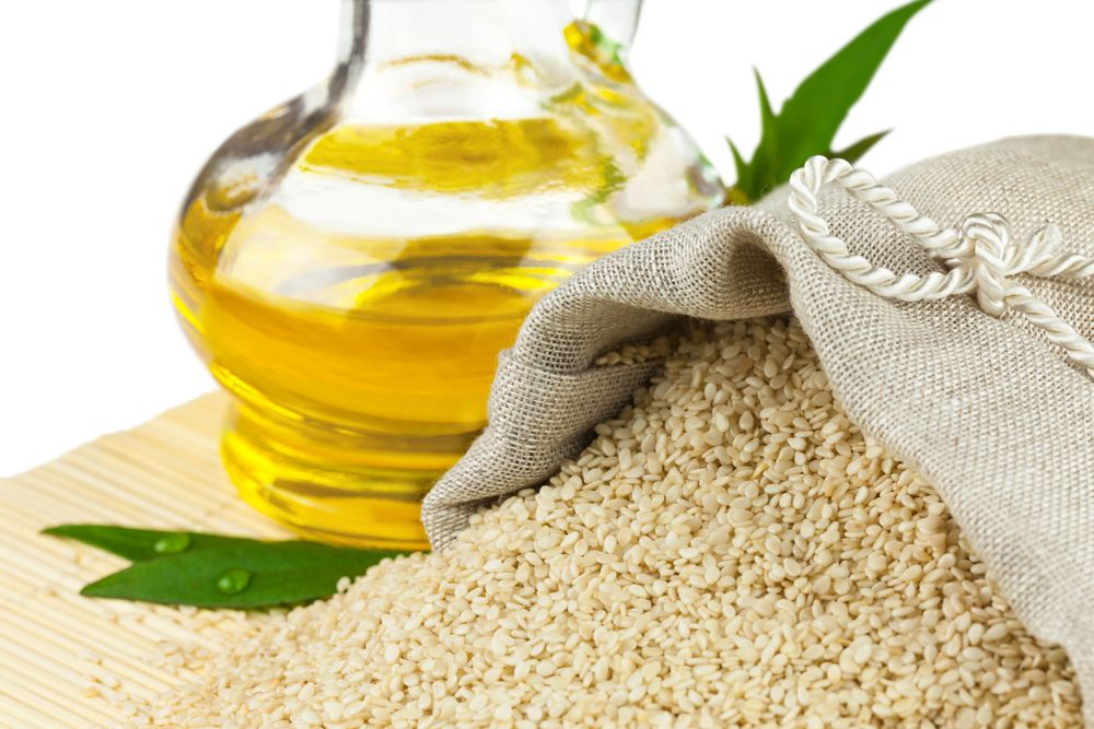 Sezamový olej zo semien sezamu