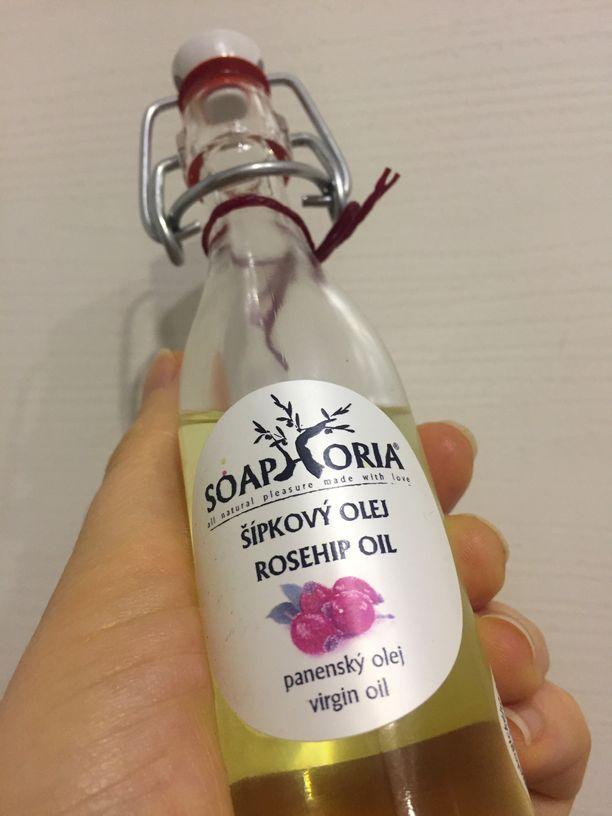 Panenský šípkový olej od Soaphorie