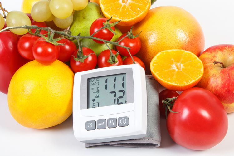 Ovocie a zelenina na zníženie vysokého krvného tlaku