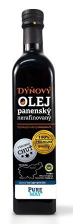 Panenský tekvicový olej proti vypadávaniu vlasov