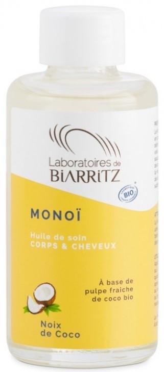 Telový kokosový olej BIO Monoi