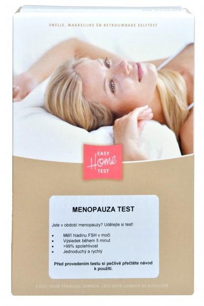 Domáci test na menopauzu