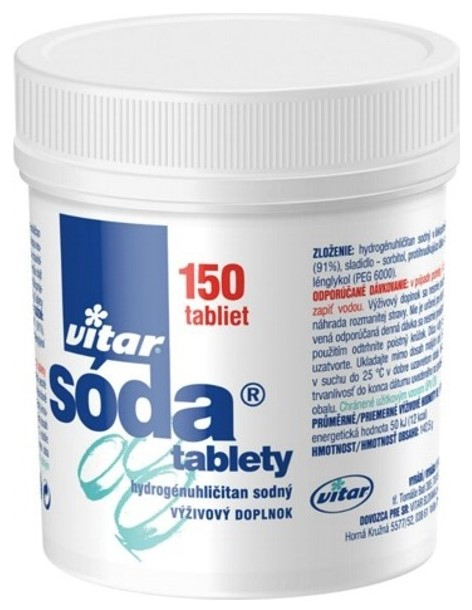 Vitar soda tablety 150 ks