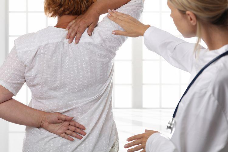 Vyšetrenie chrbta u lekára