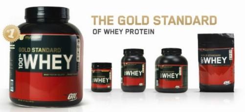 Proteín 100% Whey Gold Standard - Optimum Nutrition