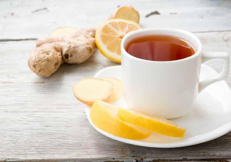 Zázvorový čaj proti bolesti hlavy