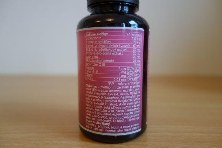 Zloženie Renovix a množstvo aktívnych látok